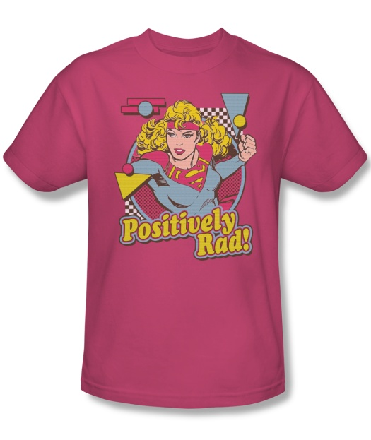 Supergirl Positively Rad T-Shirt