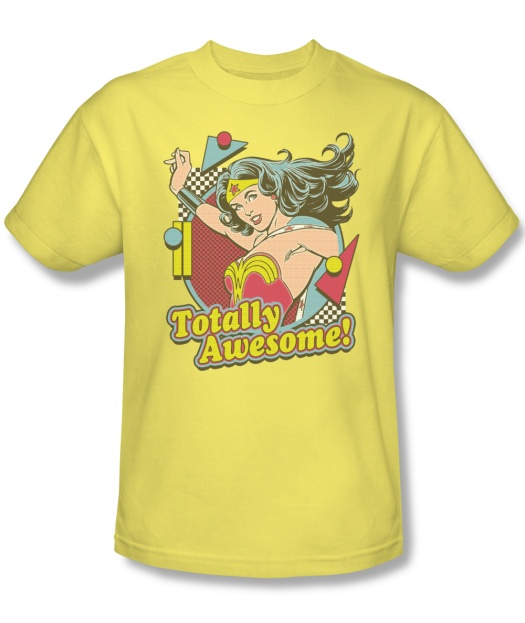 Wonder Woman Totally Awesome T-Shirt
