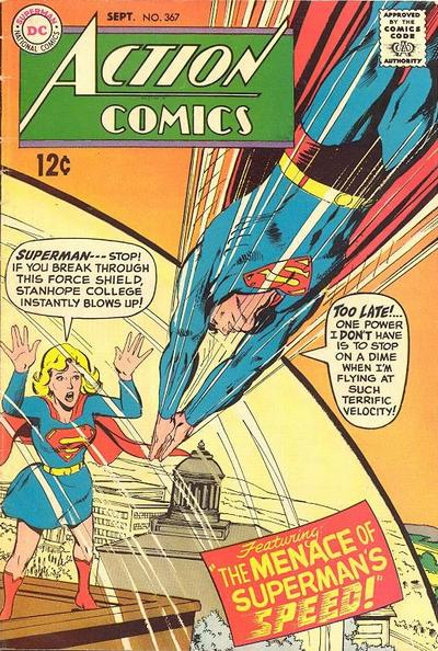 Supergirl Action Comic Covers