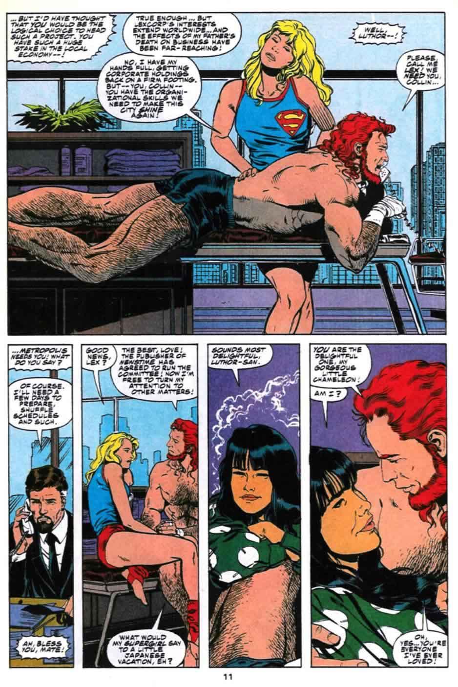 Supergirl nude comic, Kung Fu Panda Tigerin Esel