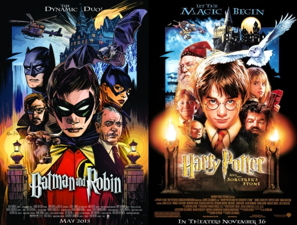 Batman-and-Robin-Comic-Harry-Potter-Movie-Cover