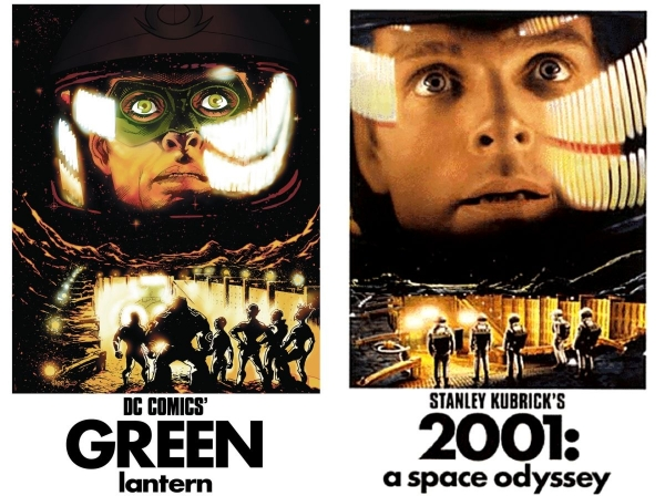 Green-Lantern-Comic-2001-Space-Odyssey-Movie-Cover