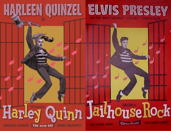 Harley-Quinn-Comics-Jailhouse-Rock-Movie-Cover
