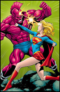Supergirl and Despero