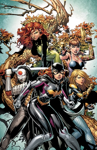Birds of Prey #4 cover