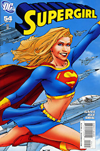 cover of Supergirl #54