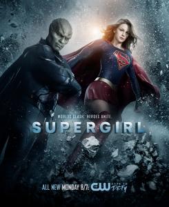 Supergirl 2x10 Poster - Worlds Clash. Friends Unite.