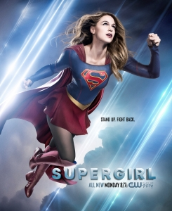 Supergirl 2x21 Poster - Stand Up. Fight Back.