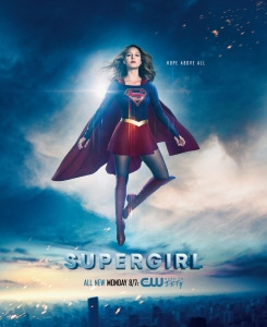 Supergirl Season 2 Poster - Hope Above All