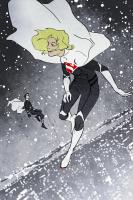 Justice-Lady-Kara-Supergirl-and-Lord-Kon-by-Olga-Ulanova