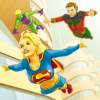 Supergirl-and-Legion-by-Tom-Feister
