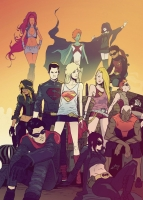 Supergirl-and-Teen-Titans-by-Pericles-Junior