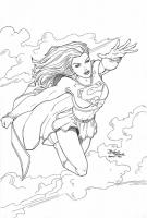 Supergirl-by-Brian-Vander