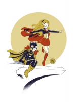 Supergirl-Batgirl-Commission-by-Mike-Maihack-02