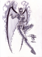 Supergirl-Flamebird-by-Joe-Prado