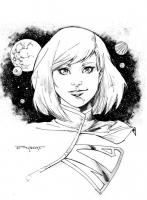 Supergirl-by-Art-Thibert