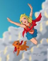 Supergirl-by-Bryan-Mon-Streaky