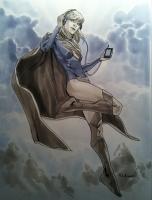 Supergirl-by-Mahmud-Asrar-2012-Workshop-Sketch