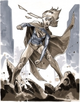 Supergirl-by-Mahmud-Asrar-Comic-Action-Essen-2012-Pre-Show-Commission