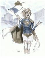 Supergirl-by-Mahmud-Asrar-Comic-Con-Paris-2012-Convention-Sketch-2
