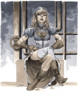 Supergirl-by-Mahmud-Asrar-Steampunk-Wizard-World-Chicago-2012-Pre-Show-Commission