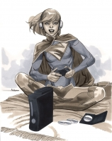 Supergirl-by-Mahmud-Asrar-Wizard-World-Chicago-2012-Pre-Show-Commission-2