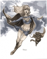 Supergirl-by-Mahmud-Asrar-Wizard-World-Chicago-2012-Pre-Show-Commission-3