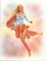 Supergirl-by-Mike-Kimoto
