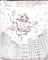Supergirl-by-Mike-Pascale