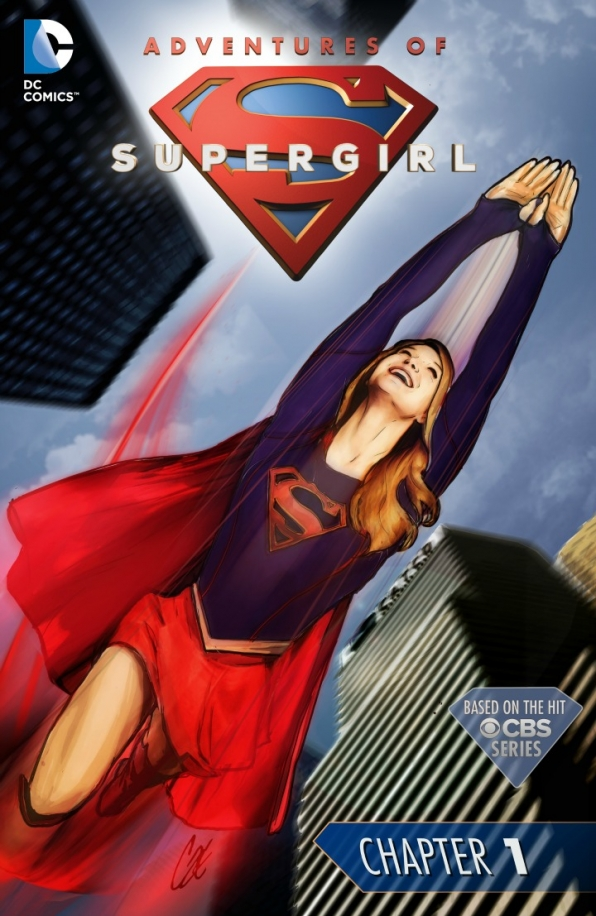 Adventures of Supergirl 01 Cover