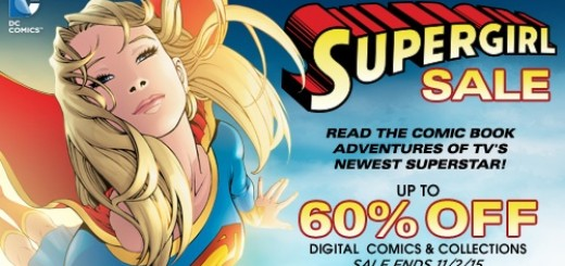 Comixology Oct 2015 Supergirl Sale