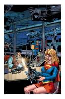 Convergence: Adventures of Superman interior art