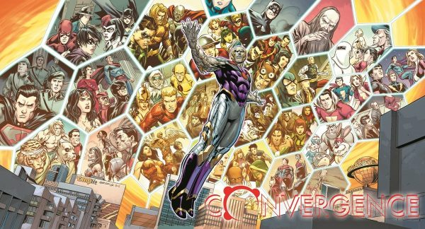 Promo art for DC Comics Convergence