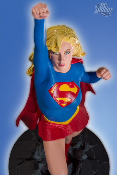 Cover Girls of the DC Universe: Supergirl Statue
