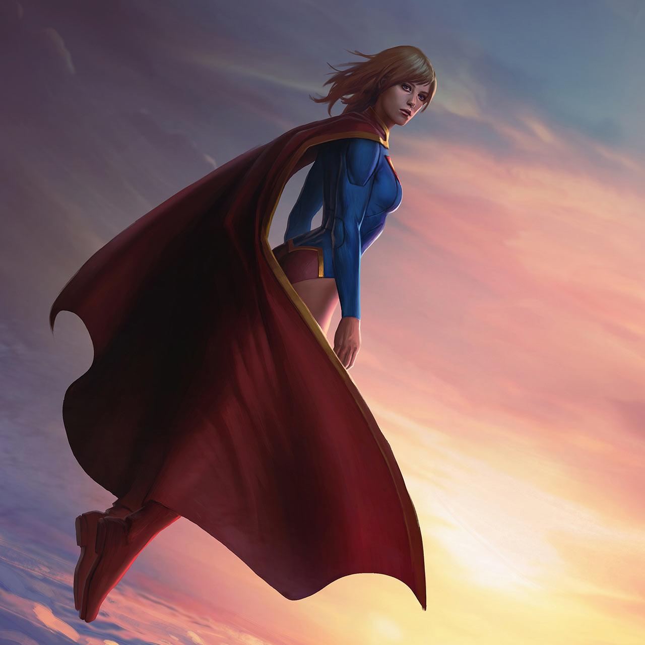 Infinite Crisis Champion Supergirl