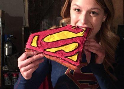 Melissa Benoist Supergirl Cake