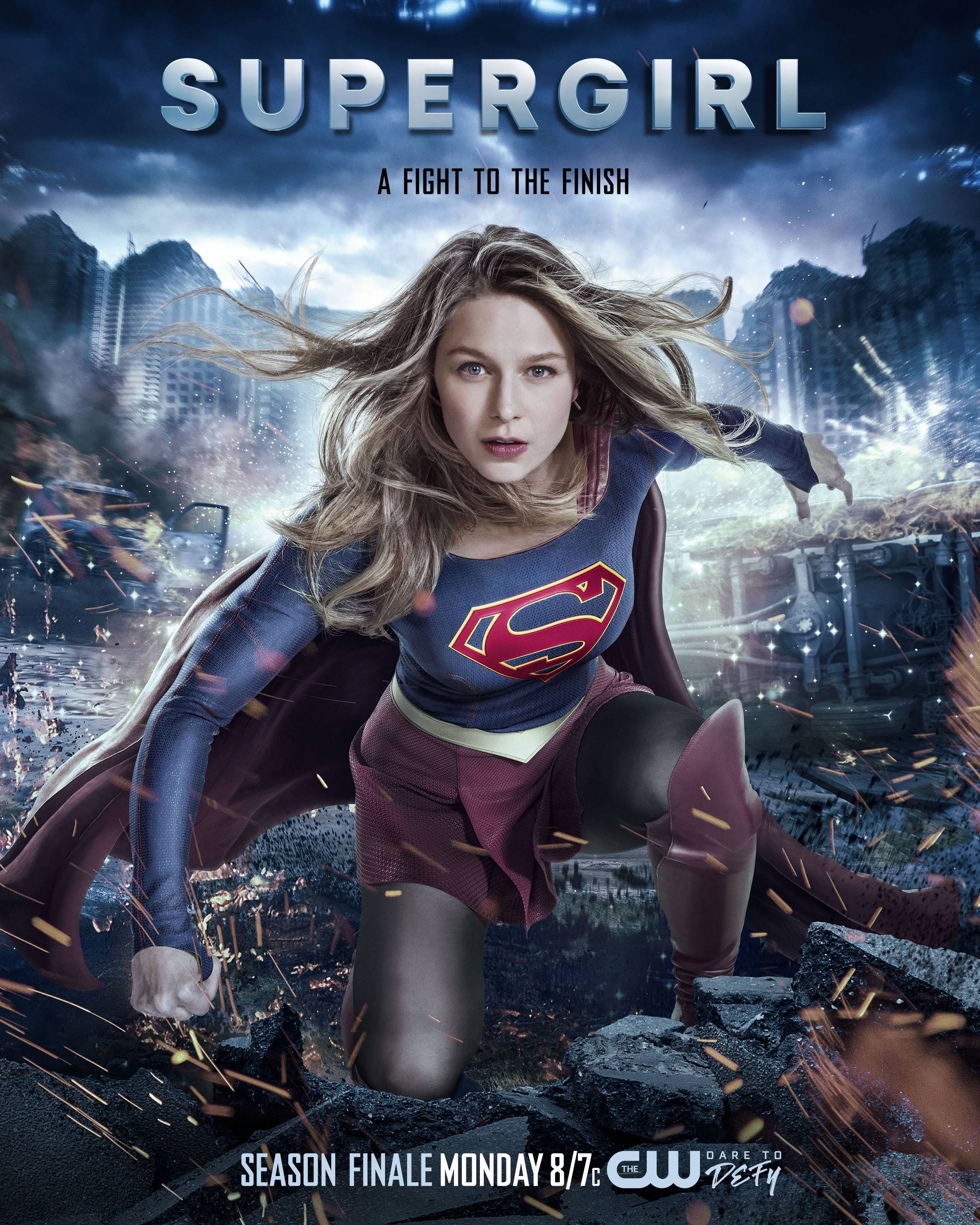 supergirl 2 22 nevertheless she persisted poster promo. Black Bedroom Furniture Sets. Home Design Ideas