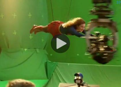 Supergirl Behind the Scenes 01