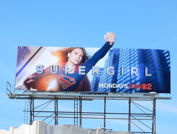 Supergirl Billboard