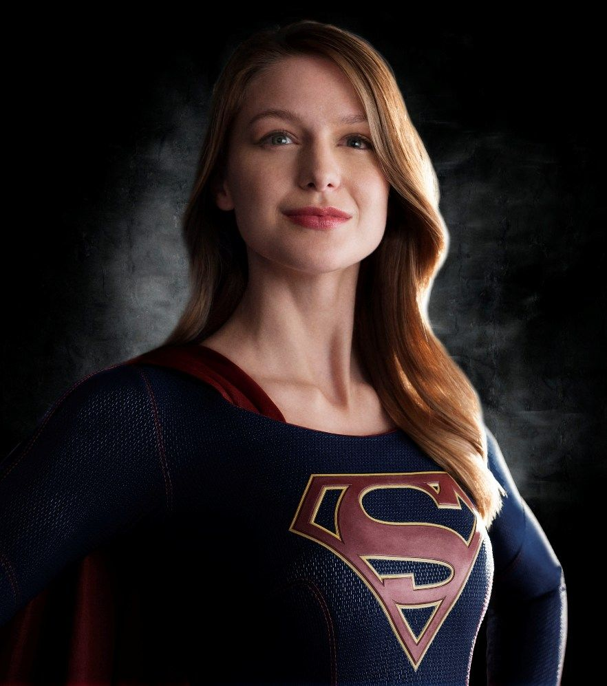 Supergirl First Costume Photo Headshot