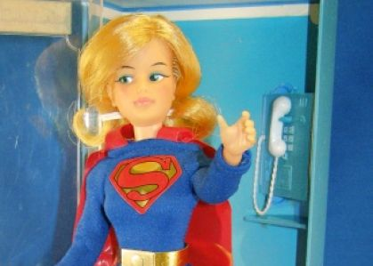 Ideal Super Queen Comic Heroine Supergirl (1967)