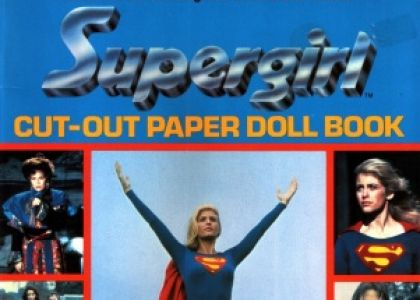 Supergirl Paper Doll Book