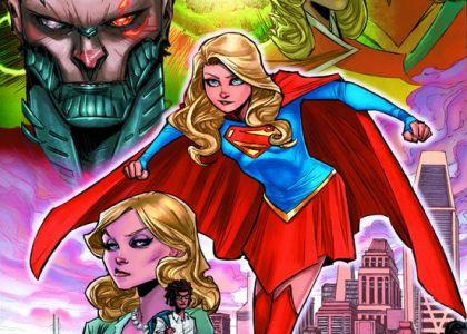 Supergirl Rebirth Brian Ching
