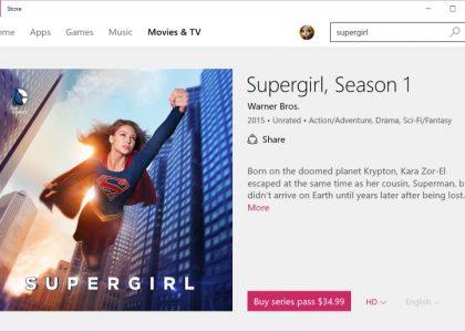 Supergirl Season 1 Pass