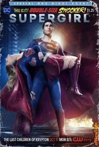 Supergirl 2x02 Poster - The Last Children of Krypton