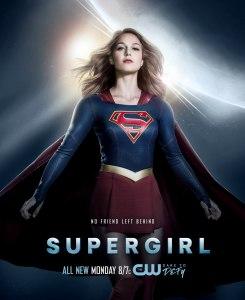 Supergirl 2x12 Poster - No Friend Left Behind