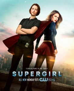 Supergirl 2x14 Poster - Fearless Runs in the Family