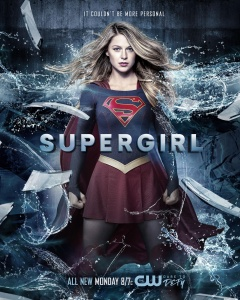 Supergirl 2x19 Poster - It Couldn't Be More Personal