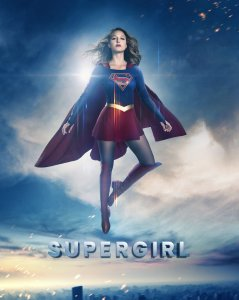 Supergirl Season 2 Poster - Hope Above All (textless)