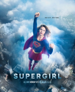 Supergirl 2x06 Poster - Her City. Her Fight.